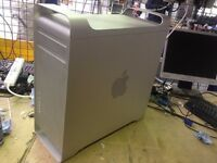 Apple MacPro A1186 3,1 2x 2,8 Quad Core (Eight Core) 320Gb Hard drive, ATI RADEON HD2600 12Gb DVDRW