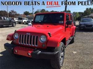 2018 Jeep WRANGLER UNLIMITED **Brand New** 2018 Wrangler Sahara