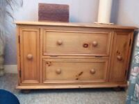 LOVELY SOLID PINE TV CABINET ***REDUCED***
