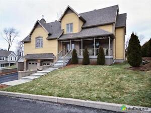 599 999$ - Maison à un étage et demi à vendre à St-Romuald