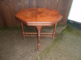 Coffee occasional table beautiful detail good solid condition shabby chic