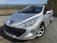 2010 10 PEUGEOT 308cc 1.6 VTi CONVERTIBLE - *APRIL 2019 M.O.T* - SPRING IS HERE!