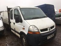 Renault Master Tipper spare parts