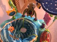 Baby activity centre jumperoo