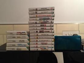 Nintendo 3ds and 20 games