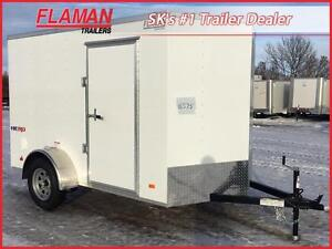 2017 Bravo HR610SA Enclosed Cargo Trailer