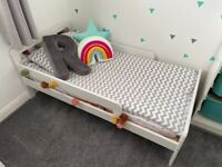 White Infant bed for sale