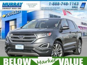 2016 Ford Edge Titanium AWD  **sunroof! navigation!**