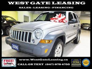 2006 Jeep Liberty SPORT 4WD | CERTIFIED |