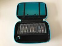 Nintendo 3DS Aqua Blue (3DS, Charger, Case, 3 Styluses, 6 Games, 2GB SD Card)