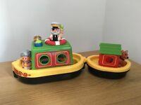 Happyland barge - £6.50