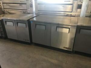 "36"" & 48"" True under counter fridges ( like new ! Up to 65% off ) now only $1195"