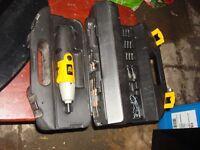 jcb drills kit air hammer kit air spray gun all new on box ready to use