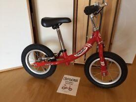 Kinder Bike Kids Balance Bike Laufrad Red Great Balance Bike Trainer In Excellent Condition