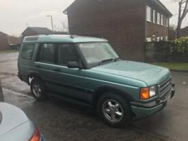 Discovery 2 td5 manual 5seater swap
