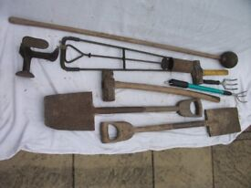 Job Lot of Old Tools, 9 Items in Total. ONLY £10 The Lot. See Photo's to view items
