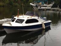 shetland 535 18ft boat