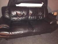 2&3 leather sofa