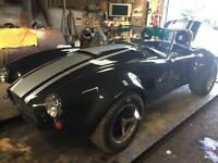 AC Cobra Kit Car, 95% Finished, Rare Wide Body Viper Kit, V8
