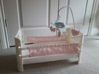Baby Annabell Cot with Mobile