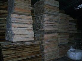 wooden slats ideal picket fencing etc tel 07974 662275