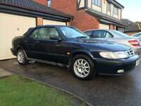 1997 Saab 93 Special edition 2.3ltr MoHair custom roof fitted.