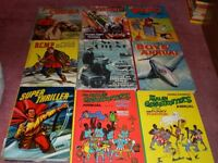 Vintage collectable childrens annuals job lot