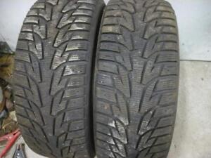 Two 225-45-17 snow tires $90.00
