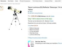 Telescope with lenses