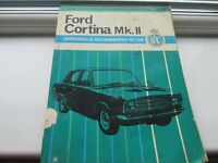 VINTAGE CAR MANUALS FROM 1950,S ONWARDS ABOUT 200 IN ALL