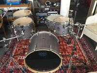 Mapex Mars Fusion 5 piece drum kit