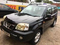 2003 NISSAN X-TRAIL 2.5 AUTOMATIC FULL CREAM LEATHERS 99 000 MILES