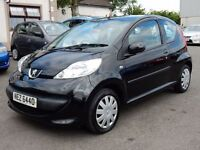 2007 Peugeot 107 with only 50000 miles, motd until june 2017 all cards welcome