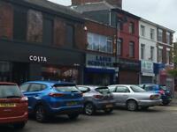 Runcorn High Street Retail Shop and Office for rent