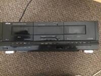 Eltax double cassette deck
