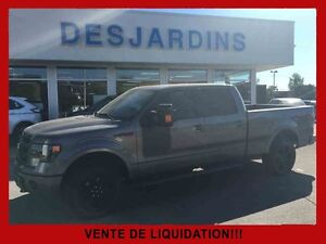 2013 Ford F-150 4WD SUPER CREW 157'' WB FX4 CUIR/TOIT OUVRANT/NA