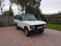 Rare Classic Range Rover