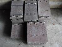 60 REDLAND roof tiles