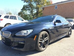 2013 BMW 650i Gran Coupe XDRIVE**REDUCED**LOW KMS**CAR PROOF CLE