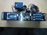 USED Omnitronic EM-650B Entertainment mixer Multifunctional 5+2-channel mixer