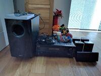 Onkyo HT-S6305 5.1 surround sound home cinema receiver and speakers