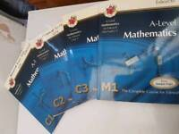Various GCSE, A Level maths and Science books for sale from £3 onwards