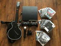 Playstation 3 console, accessories and games