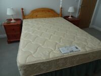 Double Bed Complete/Headboard/2 x Side Units
