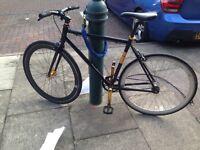 No logo single speed road bike