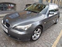 BMW 520D TOURING == ESTATE == AUTOMATIC == FULL SERVICE HISTORY == ONLY 2995 ==