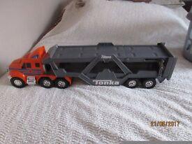 Tonka truck car transporter