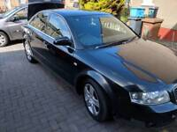 Audi a4 2.0 comes with private reg