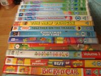 BUNDLE OF DVD'S BOY'S GIRLS ALL USED AND HAVE SCRATCHES ON