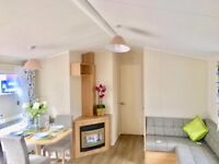 Static Caravan for Sale in Wales. 2018 Pitch fees included. Indoor heated swimming pool